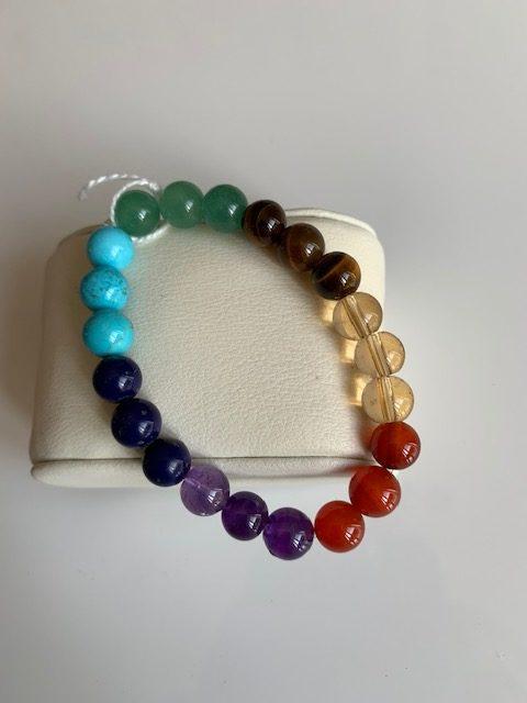 bracelet chakras simpe  rotated